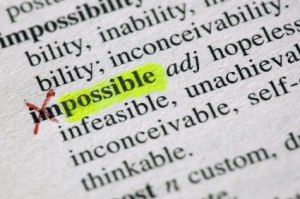 From the impossible to the possible